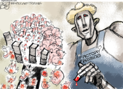 Factory Farmers by Pat Bagley