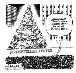 Rockefeller Center Christmas Tree by Jimmy Margulies