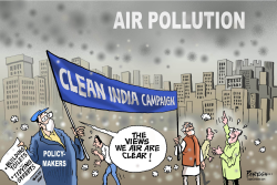 Clean India and pollution by Paresh Nath