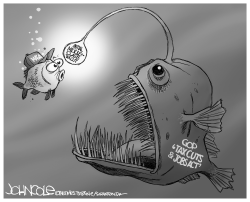 Tax cut lure by John Cole