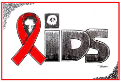 World Aids Day by Tayo Fatunla