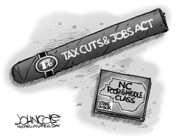 LOCAL NC Tax Cuts and Jobs Act BW by John Cole
