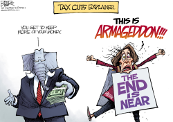 Tax Cuts by Nate Beeler