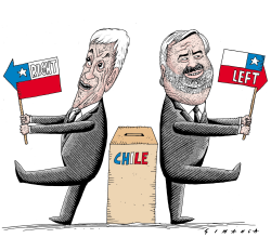 Chile Election 2017 by Osmani Simanca