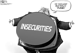 Trump Button by Nate Beeler