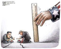 Measuring Up by Adam Zyglis