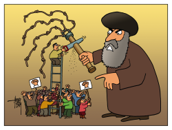 Iran scourge by Arend Van Dam