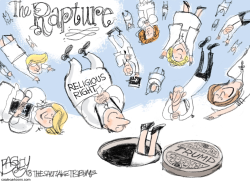Religious Right by Pat Bagley