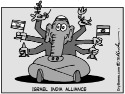 Israel India Alliance by Yaakov Kirschen