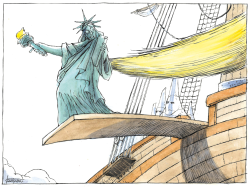 Trump and Liberty by Michael Kountouris