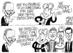 For the Children by Pat Bagley