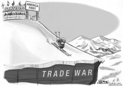 Trump Leads The Way at Davos World Economic Forum by RJ Matson