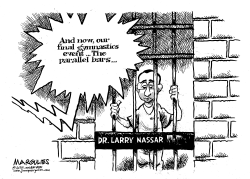 Dr Larry Nassar sentence by Jimmy Margulies