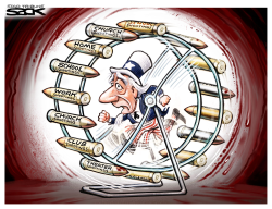 Gun Wheel by Steve Sack