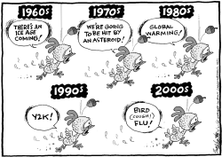 The Latest Fad Fear by Bob Englehart