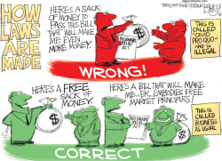 Corruption by Pat Bagley