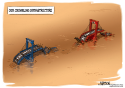 Crumbling National Infrastructure by RJ Matson