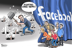 Facebook and fake news by Paresh Nath