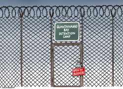 New executive order for Guantanamo Bay by Neils Bo Bojeson
