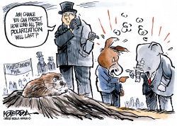 Punxsutawney Politics by Jeff Koterba