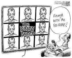 Brady Bowl by Adam Zyglis