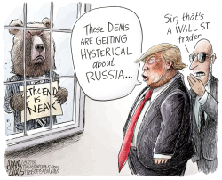 Bear Hysteria  by Adam Zyglis