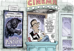 Black History Month by Joe Heller