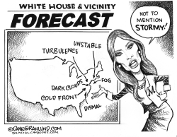 White House weather by Dave Granlund
