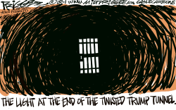 Trump Tunnel by Milt Priggee