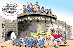 Europe's Populists by Paresh Nath