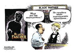Black Panther movie color by Jimmy Margulies