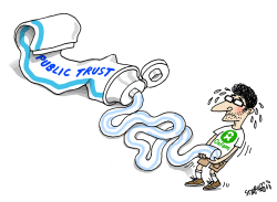 OXFAM and public trust by Stephane Peray
