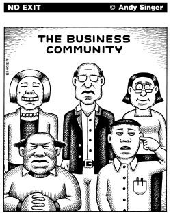 Business Community by Andy Singer