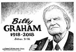 Billy Graham tribute by Dave Granlund