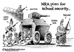 Student safety by Dave Granlund