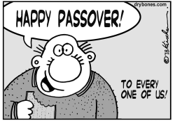 Happy Passover by Yaakov Kirschen