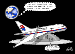search for MH 370 extended by Stephane Peray