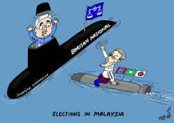 Malaysian Elections by Stephane Peray