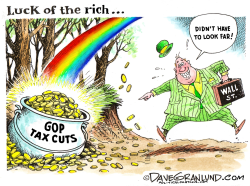 Luck of the rich by Dave Granlund