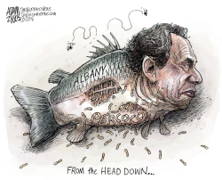 NY State Percoco Guilty by Adam Zyglis