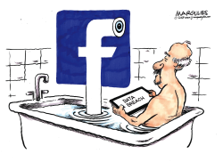 Facebook data breach color by Jimmy Margulies