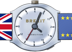 Timeframe for Brexit transition by Neils Bo Bojeson