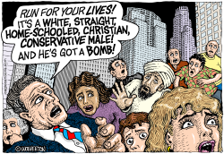 White Conservative Terrorists by Wolverton