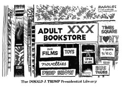 Trump Presidential Library by Jimmy Margulies
