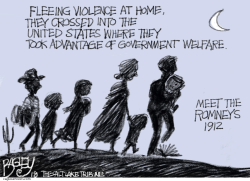 Romney Immigrants by Pat Bagley