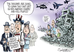 Russia by Joe Heller