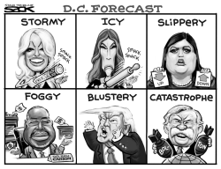 Stormy Forecast by Steve Sack