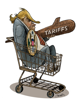 Trumps Big Tariffs by Dario Castillejos