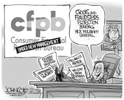 Mulvaney and CFPB by John Cole