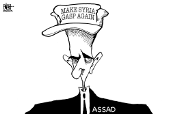 SYRIA CHEMICAL WEAPONS, B/W by Randy Bish